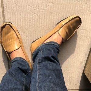 Geox Shoes - Geox Respira Tan leather loafers